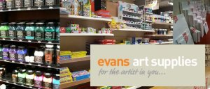 Evans Art Supplies sponsors of Dublin Plein Air Painting Festival