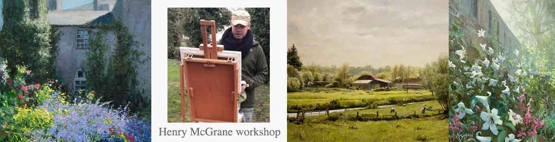 Henry McGrane art workshop at Dublin Plein Air painting festival