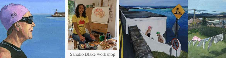 Sahoko Blake Dublin Plein Air Festival workshop