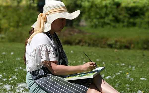 Sign up to Dublin Plein Air painting festival mailing list